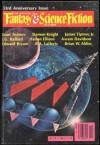The Magazine of Fantasy and Science Fiction, October 1982 - Edward L. Ferman, James Tiptree Jr., Algis Budrys, Damon Knight, Avram Davidson, J.G.Ballard, R.A.Lafferty, Brian W. Aldiss, Isaac Asimov, Harlan Ellison