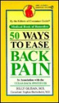 50 Ways to Ease Back Pain - Consumer Guide