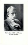 The Letters of Edward Thomas to Jesse Berridge, With a Memoir by Jesse Berridge - Edward Thomas