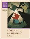 Lotus 123 Version 5 for Windows - Sarah Hutchinson-Clifford, Glen J. Coulthard, Catherine J. Schuler