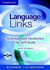 Language Links Book and Audio CD Pack: Grammar and Vocabulary Reference and Practice - Adrian Doff, Christopher Jones