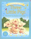 Three Little Pigs [With Stickers] - Heather Amery, Laura Howell