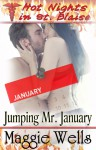 Jumping Mr. January (Hot Nights in St. Blaise Book #1) - Maggie Wells
