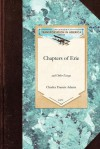 Chapters of Erie - Charles Adams