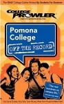 Pomona College Off the Record (College Prowler Series) - College Prowler, Adam Burns, Kristen Burns