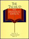 The Talmud, The Steinsaltz Editon, Volume 10: Tractate Ketubot, Part IV (Talmud the Steinsaltz Edition) - Adin Steinsaltz