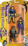 Bibleman, Biblegirl, and the Cheater: Action Figure 3 Pack Collection - Thomas Nelson Publishers