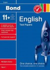 Bond 11+ Test Papers English (Bond Assessment Papers) - Sarah Lindsay