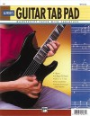 Guitar Tab Pad: Loose Pages (3-Hole Punched for Ring Binders) - Alfred Publishing Company Inc.