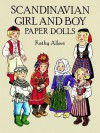 Scandinavian Girl and Boy Paper Dolls - Kathy Allert