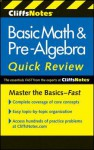Cliffsnotes Basic Math & Pre-Algebra Quick Review, 2nd Edition - Jerry Bobrow