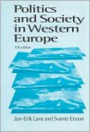 Politics and Society in Western Europe - Jan-Erik Lane, Svante Ersson