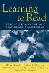 Learning to Read: Lessons from Exemplary First-Grade Classrooms - Michael Pressley, Richard L. Allington, Ruth Wharton-McDonald, Cathy Collins Block, Lesley Mandel Morrow