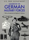 Handbook on German Military Forces - United States Department of War