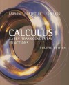 Calculus: Early Transcendental Functions - Ron Larson, Robert P. Hostetler, Bruce H. Edwards