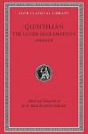 The Lesser Declamations, II - Marcus Fabius Quintilianus, D.R. Shackleton Bailey