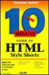 Ten Minute Guide to HTML Style Sheets - Que Corporation