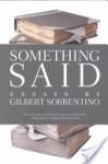 Something Said - Gilbert Sorrentino
