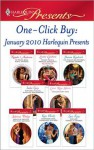 One-Click Buy: January 2010 Harlequin Presents - Natalie Anderson, Graham Lynne, Sharon Kendrick, India Grey