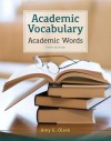 Academic Vocabulary: Academic Words (5th Edition) - Amy E. Olsen
