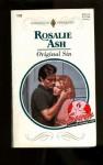 Original Sin (Harlequin Presents, No 1723) - Rosalie Ash