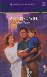 Weekend Wife (Harlequin Romance) - Sue Peters
