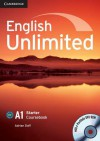 English Unlimited Starter Coursebook with E-Portfolio, A1 [With CDROM] - Adrian Doff