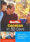 German in 30 Days - Berlitz Guides, Berlitz Guides