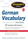 Schaum's Outline of German Vocabulary, 3ed (Schaum's Outline Series) - Edda Weiss, Conrad Schmitt, Lois Feuerle, Christine Effertz