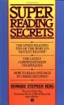 Super Reading Secrets - Howard Stephen Berg
