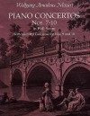Piano Concertos Nos. 7-10 in Full Score: With Mozart's Cadenzas - Wolfgang Amadeus Mozart
