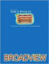 The Broadview Guide To Writing - Doug Babington, Don LePan, Maureen Okun