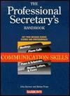 The Professional Secretary's Handbook: Communication Skills - John Spencer, Adrian Pruss