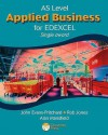 As Applied Business For Edexcel (Single Award) (Applied Business For Edexcel) - John Evans-Pritchard, Margaret Hancock, Rob Jones