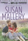 All Summer Long (Fool's Gold, #9) - Susan Mallery, Tanya Eby