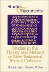 Studies In The Theory And Method Of New Testament Textual Criticism - Eldon Jay Epp, Gordon D. Fee