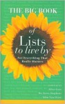 The Big Book of Lists to Live By - John Van Diest