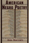 American Negro Poetry: An Anthology - Arna Bontemps