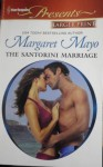 Mills & Boon : The Santorini Marriage Bargain - Margaret Mayo