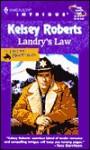 Landry's Law - Kelsey Roberts