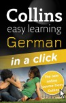 Collins Easy Learning German in a Click [With Paperback Book] - Rosi McNab