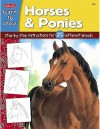 Horses & Ponies: Step-By-Step Instructions for 25 Different Breeds - Russell Farrell, Walter Foster Creative Team