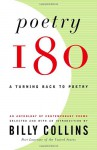 Poetry 180: A Turning Back to Poetry - Billy Collins, Barbara M. Bachman