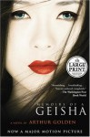 Memoirs of a Geisha (Random House Large Print) - Arthur Golden