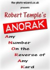 ANORAK - Any Number On Reverse Of Any Kard - A Modern Day Version of The Berglas Effect - Alex Smith, Alex Le-Roy, Jonathan Royle, Stuart Cassels, Robert Temple