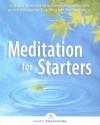 Meditation for Starters [With CD] - Swami Kriyananda