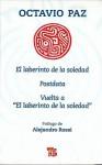 El Laberinto de la Soledad, Postdata, Vuelta A el Laberinto de la Soledad - Octavio Paz