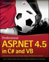 Professional ASP.Net 4.5 in C# and VB - Bill Evjen