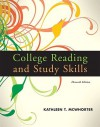 College Reading And Study Skills (With My Reading Lab Pearson E Text Student Access Code Card) (11th Edition) (My Reading Lab Series) - Kathleen T. McWhorter