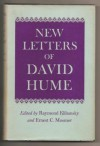New Letters of David Hume - David Hume, Raymond Klibansky, Ernest C. Mossner